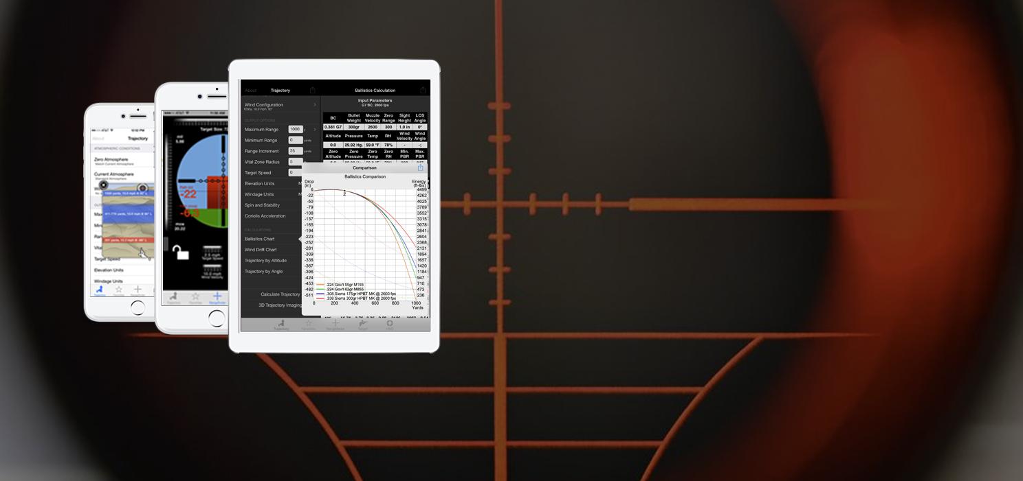 Ballistic App | #1 Ballistic Calculator for iPhone, iPad